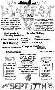 5th Annual DIY Fest
